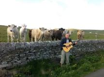 Mattias plays Orkney cowfunk